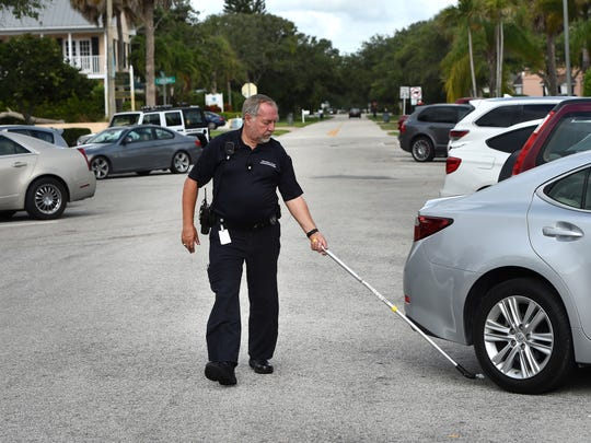 Parking Enforcement Officer John Makolin, a non-sworn
