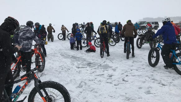 Winter cyclists geared up to Bike Across Bago.