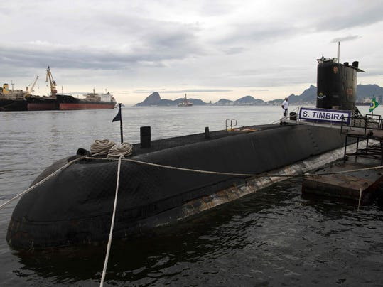 BRAZIL-ARGENTINA-SUBMARINE-MISSING