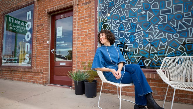 """Michelle Nunes self-financed Noons vintage and contemporary shop in Phoenix. """"It's pretty risky,"""" Nunes says. """"It was either very brave or very stupid. I don't know."""""""