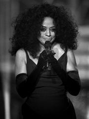 Music legend Diana Ross performed many of her greatest hits at Binghamton University's Anderson Center on July 26, 2017.