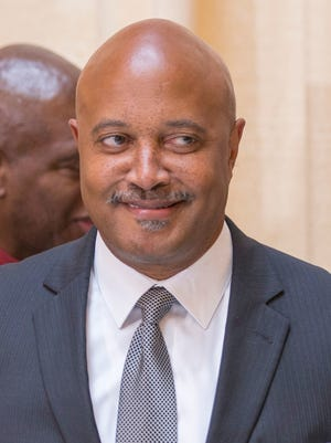 Curtis Hill, Indiana Attorney General, during an event on August 9, 2017.