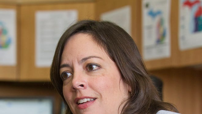 Rebecca Fleury, Village Manager of Middleville, talks about being transparent as Battle Creek's next City Manager.