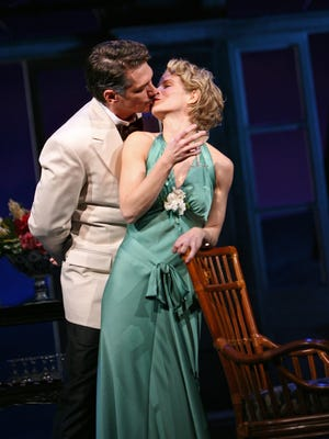 "This file photo shows the Vivian Beaumont Theater's performance of ""South Pacific,"" which returned to the New York scene in its first-ever Broadway revival in 2008."