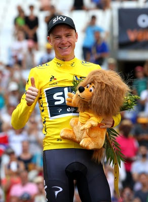 Chris Froome All However Seals Fourth Win