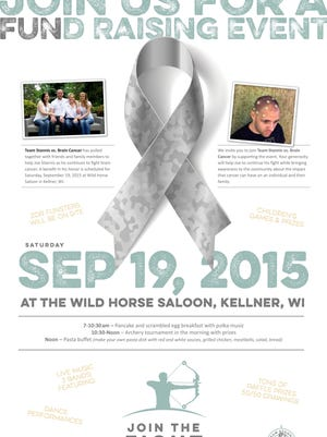 A benefit for Joe Stannis of Port Edwards is Sept. 19 at Wild Horse Saloon in Kellner.