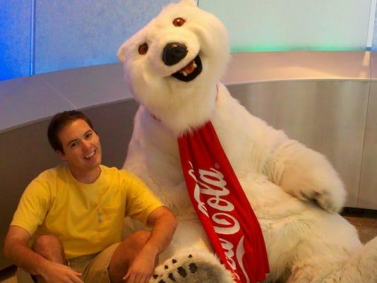 dakota with bear