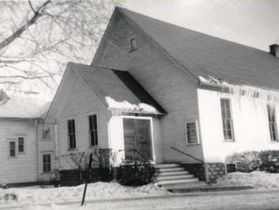 From 1920 to 1955, the  Oshkosh Gospel Tabernacle was