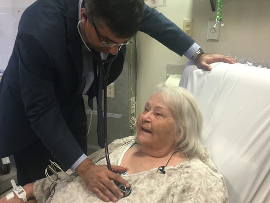 Patient Recovers from TAVR Surgery