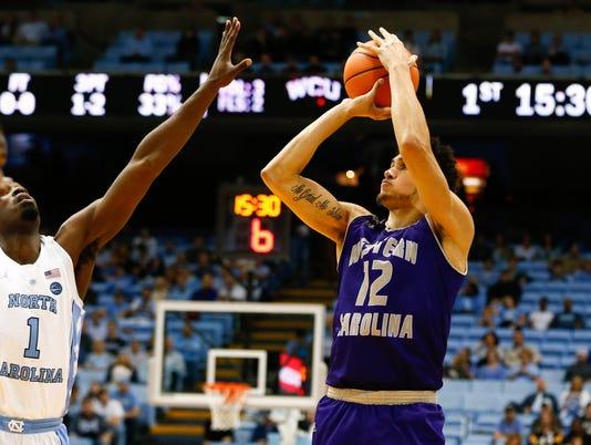 NCAA Basketball: Western Carolina at North Carolina