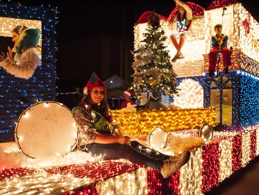 12/3: APS Electric Light Parade | This year's parade,