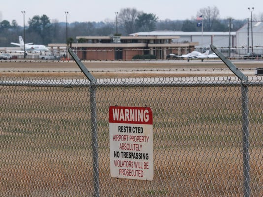 Anderson Airport expansion