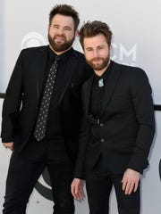 Zach Swon, left, and brother Colton of The Swon Brothers