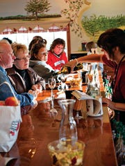 Orchard Country Winery & Market produces a variety of award-winning fruit wines available for tasting at its winery south of Fish Creek.