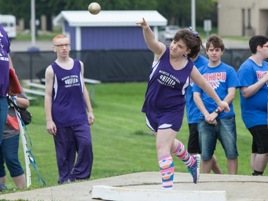 Muncie Central along with five other schools held the first ever Unified Track Meet on Saturday afternoon.The sport, developed by the Special Olympics, allows for high school students with and without intellectual disabilities to represent their schools in an IHSAA meet.