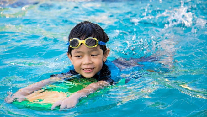 Both kids and adults can learn to swim they enroll in swimming lessons offered in Las Cruces.