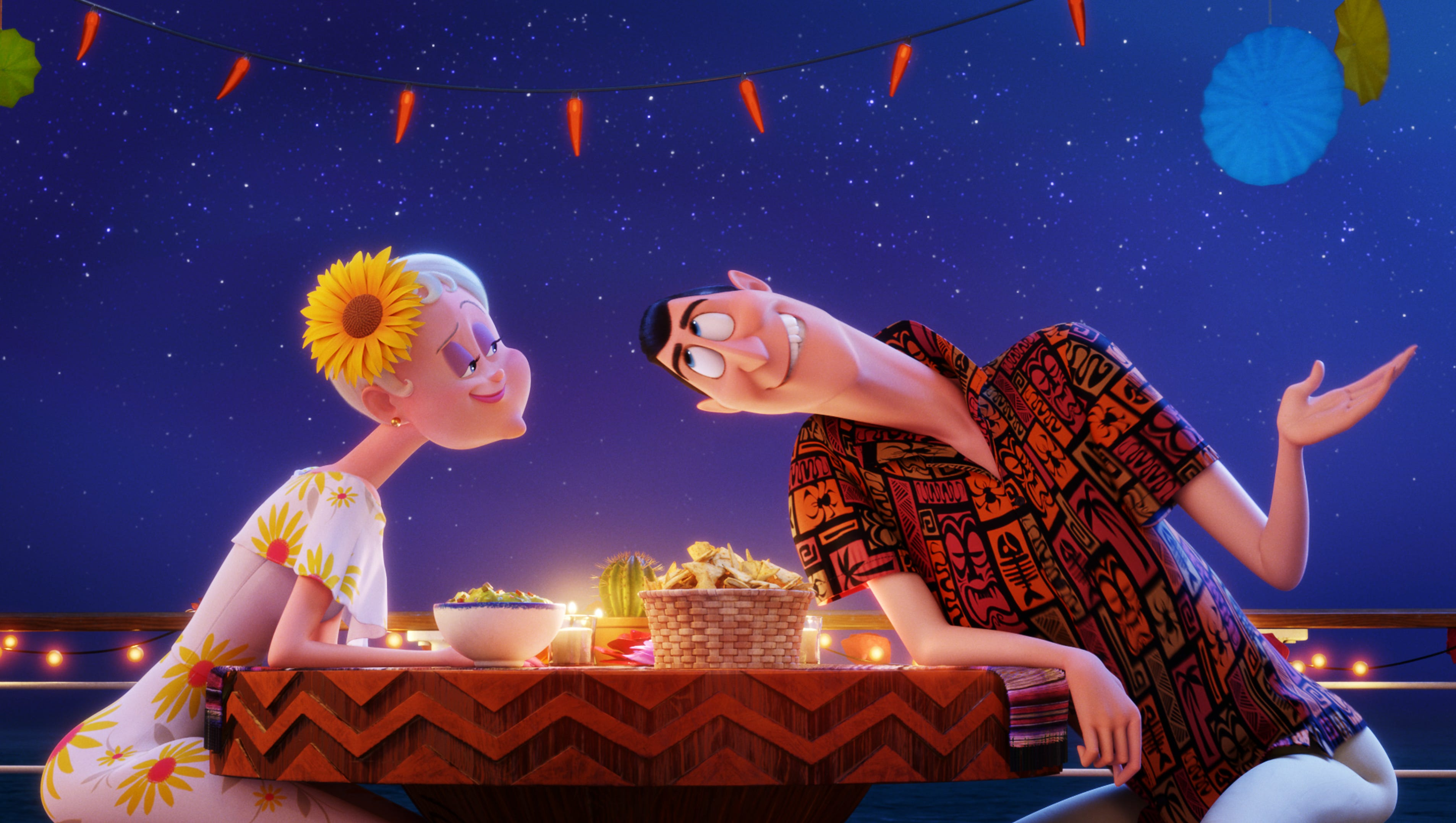 Hotel Transylvania 3 Vampire Love Abounds In Silly Touching Tale