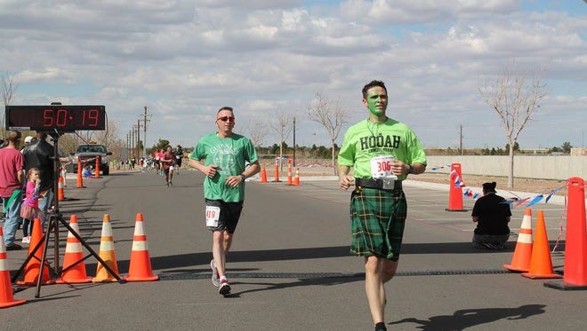 Fort Bliss will have its St. Patrick's Day 10K on March 12 at the Centennial Club.