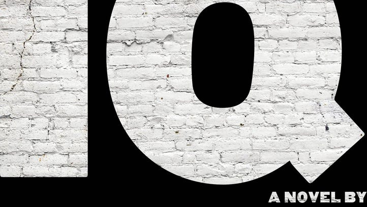 "This is the book cover image for ""IQ"" by Joe Ide."