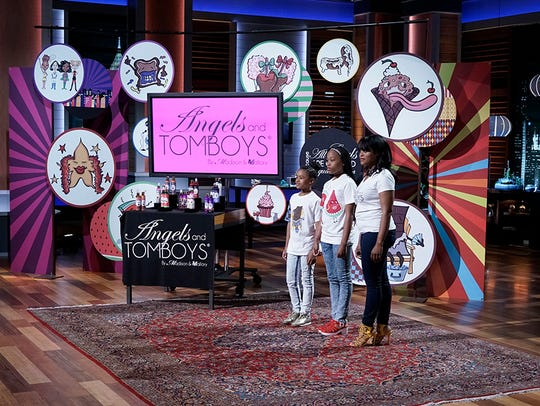 Madison and Mallory Iyadunni, along with their mom, Viara Iyadunni, are appeared on 'Shark Tank' in 2016.