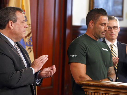 Former heroin addict Rich Wilder is applauded by NJ