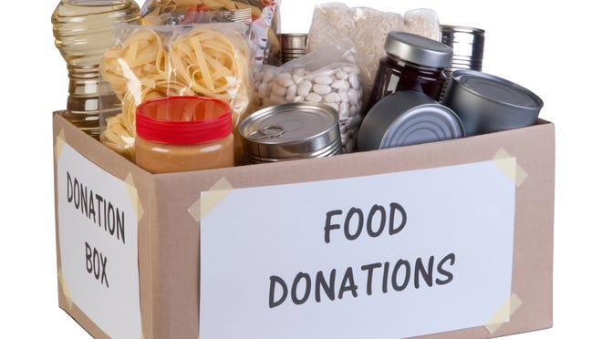 Food donations box