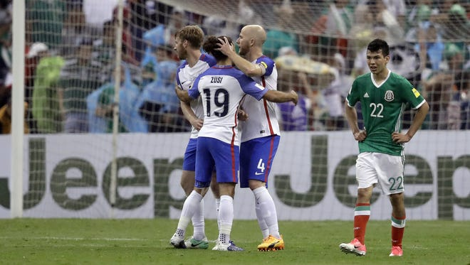 During the World Cup qualifying game between Mexico and the United States, Mexico fans booed during the playing of the U.S. National Anthem - but this is nothing new of fans at Azteca Stadium.