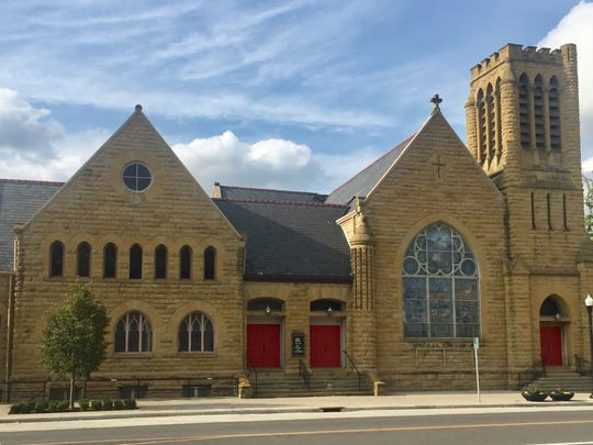 Trinity Episcopal Church, on the corner of East Main and First streets, will likely be demolished next year.