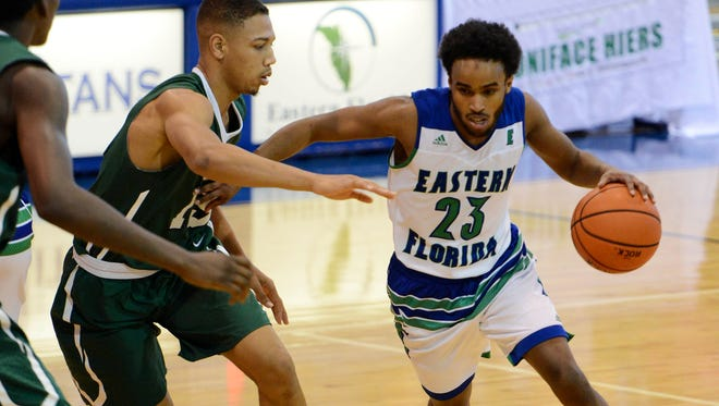 Eastern Florida State's Ahmed Ali helped propel his team into the NJCAA Final Four.