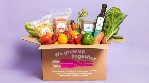 "Get ""ugly"" but delicious produce delivered to your door."