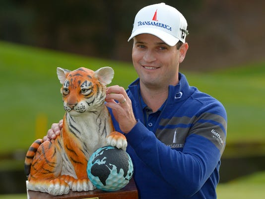 Zach Johnson Beats Tiger Woods At Sherwood In Playoff
