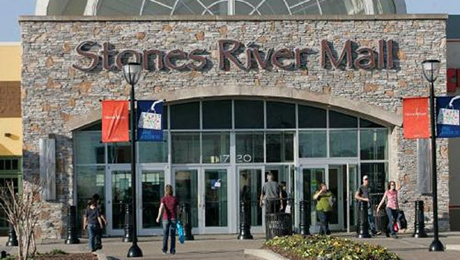Stones River Mall is closed Friday, Jan. 12, 2018.