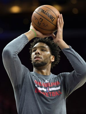 Jahlil Okafor, 19, was expected to be in the lineup for the 76ers' game Friday night against the Rockets.