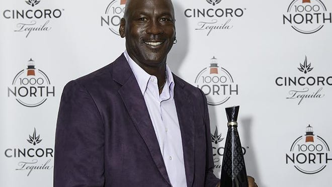 Michael Jordan at the South Florida launch of Cincoro Tequila located at 1000 North restaurant in Jupiter.