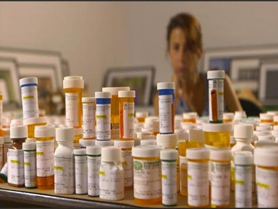 A still from the documentary,  32 Pills: My Sister's