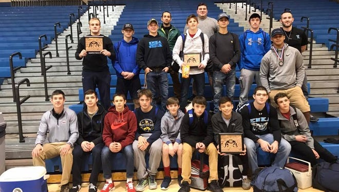 Three wrestlers from Enka won their weight classes in the Heart of Dixie tournament held Thursday and Friday at Vestavia Hills (Ala.).