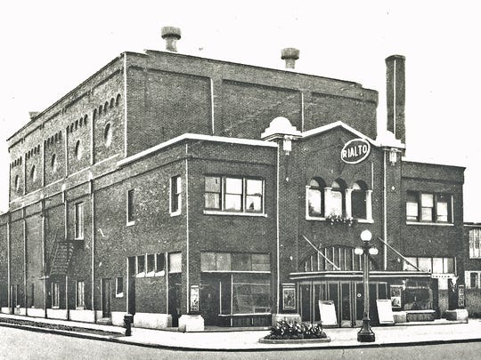 East Rochester's Rialto Theater at 400 Main Street in 1924.