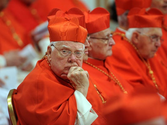 Bernard Law, disgraced cardinal who oversaw Boston clergy sex abuse scandal, dies at 86