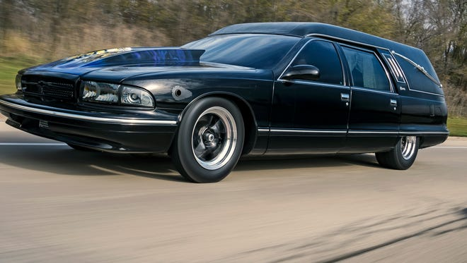 AMS Performance has created a 1,300-horsepower hearse, which they think is the world's fastest