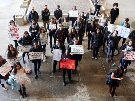 PROTESTS AT SALEM PD