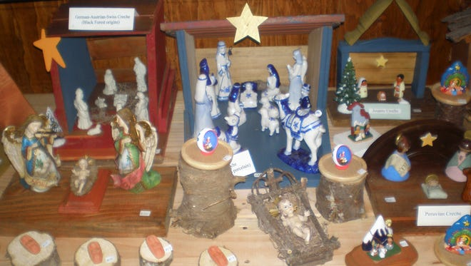 Our Lady of the Resurrection Monastery will host its annual Christmas Festival Fair this weekend, featuring creches from around the world.
