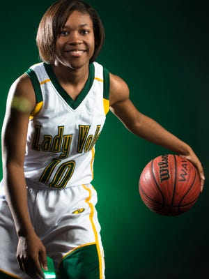 Ahyiona Vason of Jeff Davis led the Vols to the Class 7A state championship.