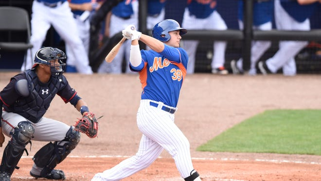Since a midseason promotion to Binghamton, Michael Conforto is batting .321 in 44 games.