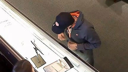 Greenville police need help identifying a suspect in a jewelry theft.