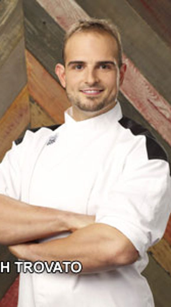 Josh Trovato is following his dreams on 'Hell's Kitchen,'