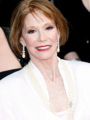 Mary Tyler Moore, in a photo from 2007.