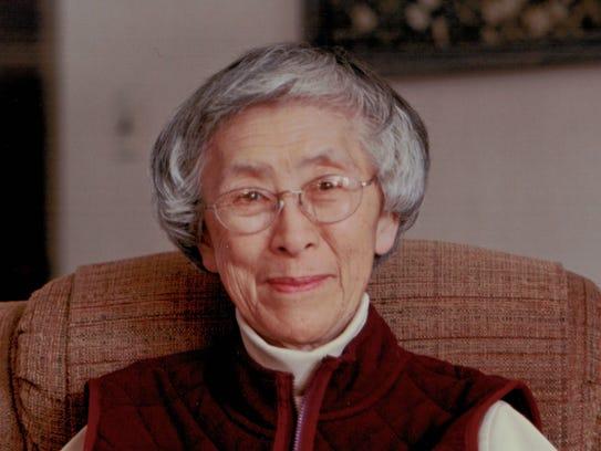 Miyoko Inouye when she was approximately 76 years of