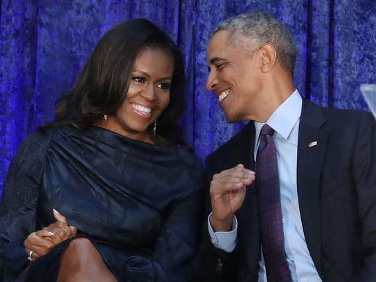 Former president Barack Obama was born in 1961, and former first lady Michelle Obama was born in 1964.