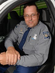 DPS Officer John Kay of Troop G was named the Department of Public Safety Officer of the Year.