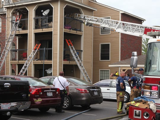 Six fire departments joined forces to extinguish the fire. No injuries were reported.